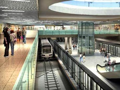 初の地下駅ターミナル予想