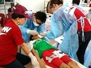 ホーチミン市で日本の歯科NPOが検診・治療ボランティア