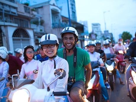 ホーチミンのバイクタクシー観光ツアー