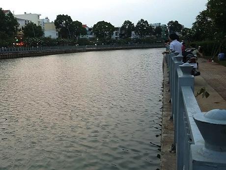現在のタンホア-ロゴム運河