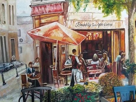 ホーチミン市では近年、飲食店やカフェなどがオープンラッシュを迎えている