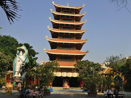 仏教文化展示会場の越南国寺