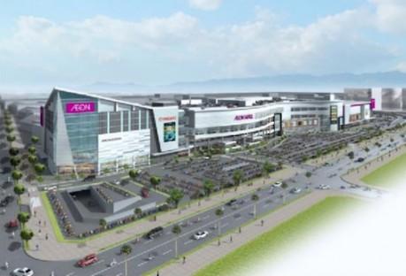 ベトナムにイオン4号店のイメージ図 ©Aeon