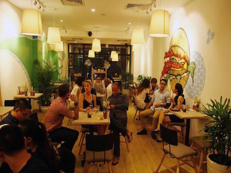 店内の様子 © The KAfe Saigon
