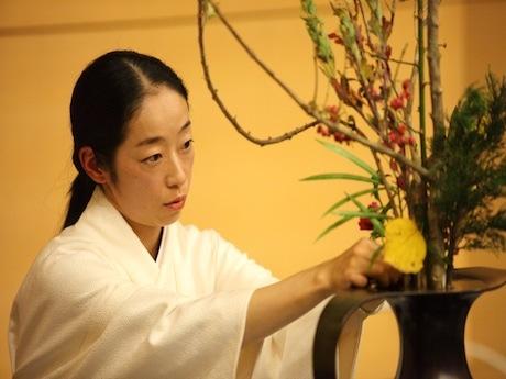 香港に生け花を通して日本文化と精神を紹介