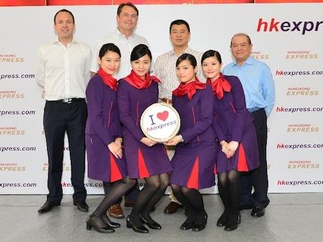 日本路線は羽田と大阪に就航が決定した香港エクスプレス航空