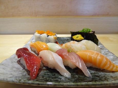 日本産のものを使い、リーズナブルに提供する