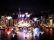 香港カウントダウン、今年も灣仔を中心に過去最大規模で-香港政観が発表