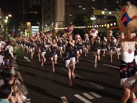 日本からのエントリーは山形の「花笠踊り」