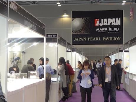 アジアワールドエキスポの「ジャパン・パール・パビリオン」