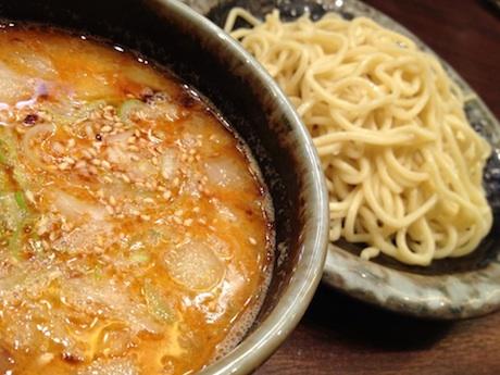 香港に期間限定で登場した山頭火のXO醤つけ麺