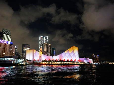 期間限定で登場する香港の新夜景プログラム
