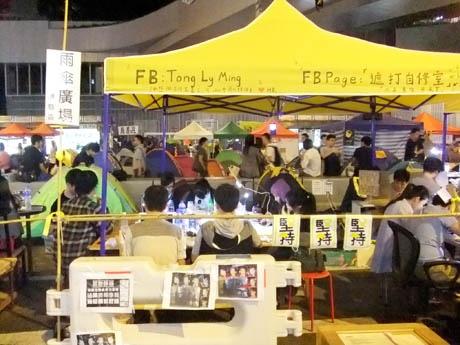 79日間続いた雨傘革命が2014年の香港を象徴するニュース