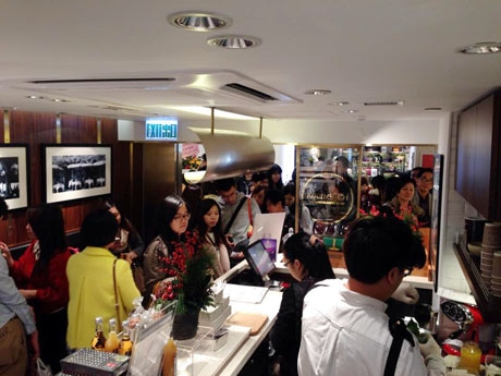 香港人女性に大人気の日本食材を使ったデザート店