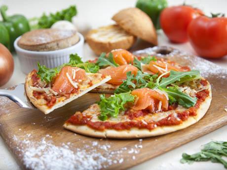 ピザも新メニューとして登場した翠華餐庁