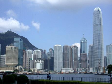 香港の景色を作る高層ビル群