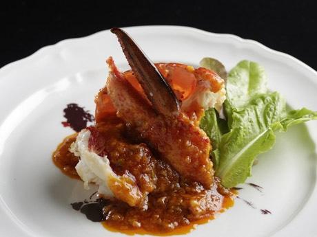 脇屋シェフが香港に紹介したオマールエビを使ったメイン料理