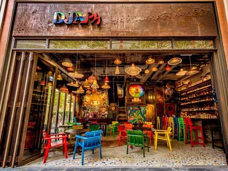 香港に登場した日本とブラジルの要素を集めたレストラン