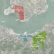 九龍公園・ビクトリア公園地下など3地区に巨大地下街 香港政府が開発計画発表