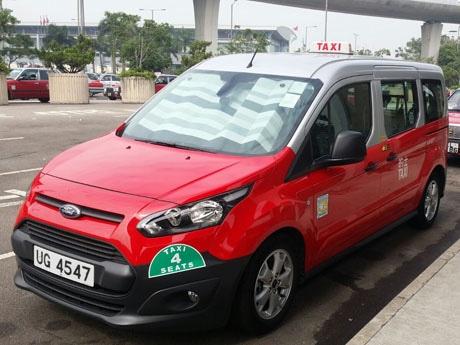 香港に導入が始まったジャンボタクシー