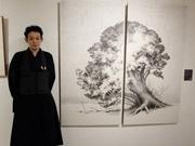 水墨画 福山一光さん 香港で初の海外個展