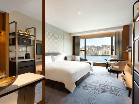 総客室数546室、6割以上がビクトリアハーバーを臨むことができる