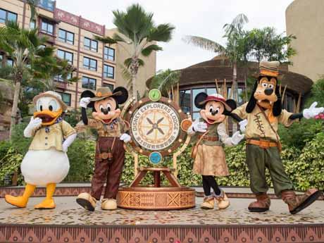 香港ディズニーに登場した新ホテル