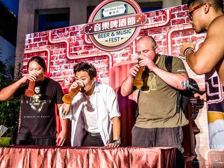 ビールをテーマにさまざまなアトラクションを開催