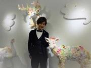 香港にアート界のスイーツ王子 香港展示に合わせ海の生き物も