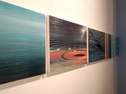 香港在住アーティスト足立あゆみさんの個展「ripple 波紋」 刹那をテーマに