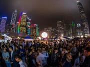 ビールの屋外フェス「BEERTOPIA HK」 中環のハーバーフロントで今年も