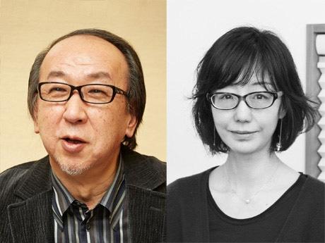 香港で講演をする」横山秀夫さんと川上弘美さん