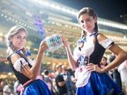香港でもビールの季節「オクトーバーフェスト」  マルコポーロやジョッキークラブで