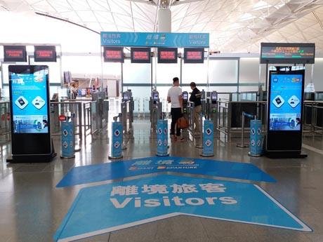 香港国際空港、税関で顔認証システム運用開始  外国人訪問客を対象に