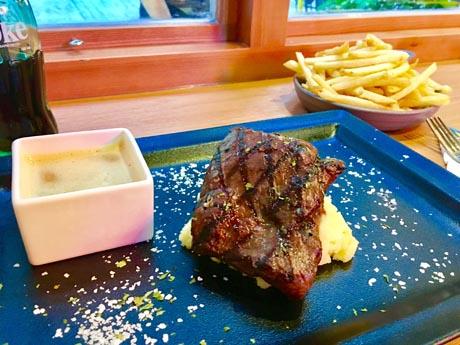 ミスジのステーキにこだわった香港のステーキ店