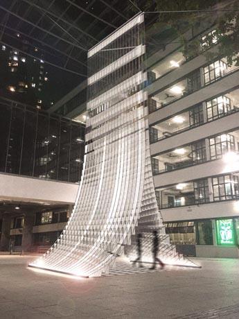 香港のPMQ入り口に設置される予定のデザイン