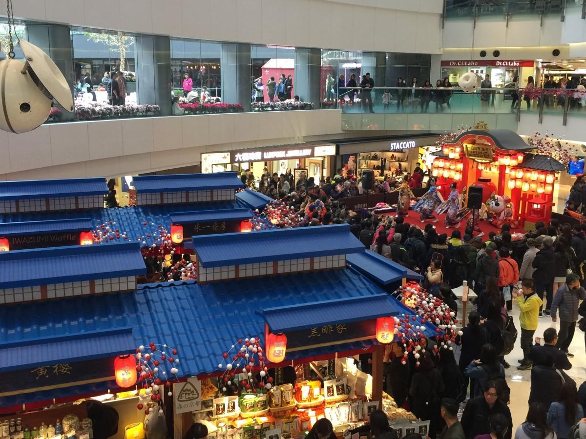 多くの住民も抱えるエリアに開店したYATA新店舗での最初の催事は「京都」