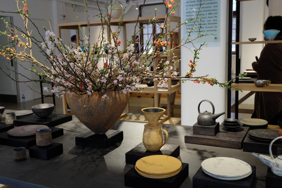 過去4回の展示を締めくくる形で開催した日日和器展