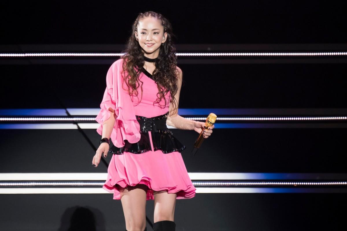 香港で最後の舞台に立った安室奈美恵さん(提供写真)