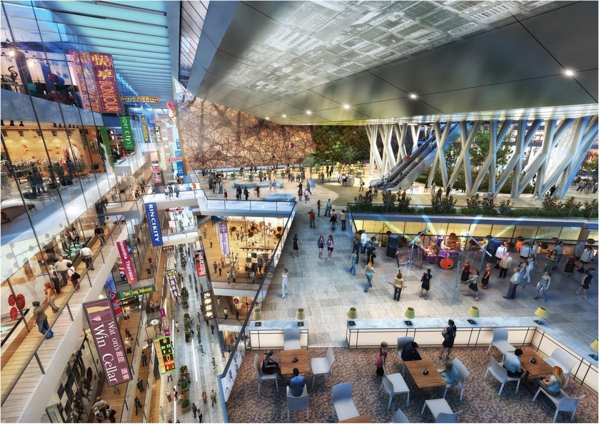 香港国際空港の拡張の一環で新設されるSKYCITY
