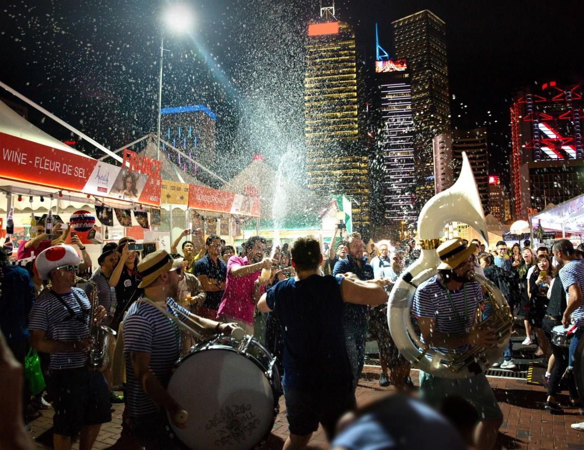 香港恒例のワインイベントが今年も開催