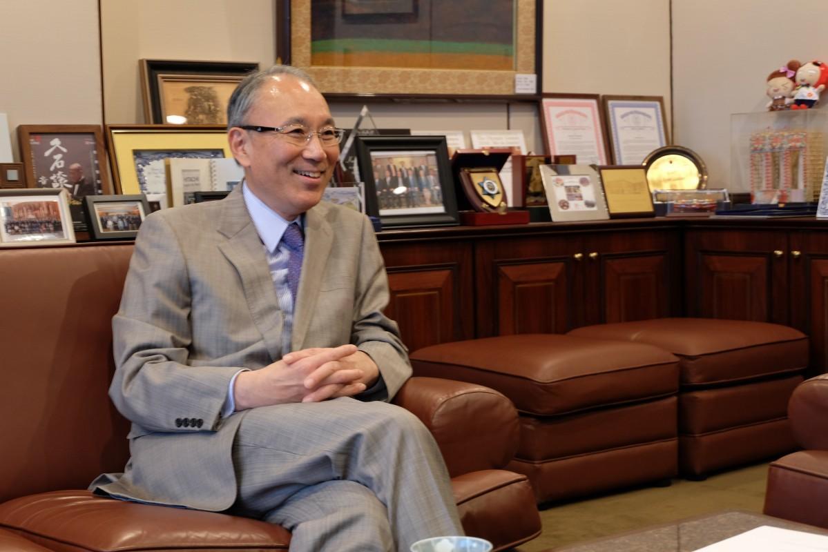 香港を離れることが決まった在香港日本国総領事館松田邦紀大使兼総領事