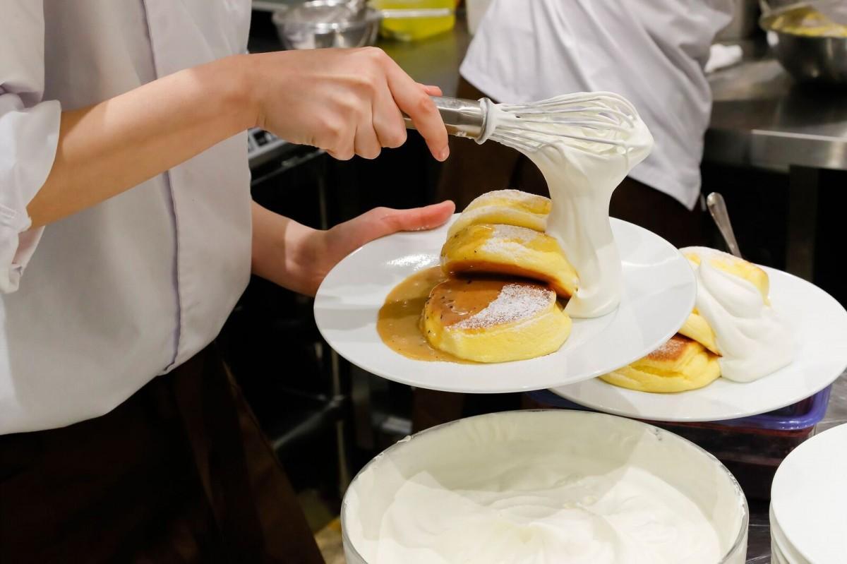 香港に初の出店をした「幸せのパンケーキ」