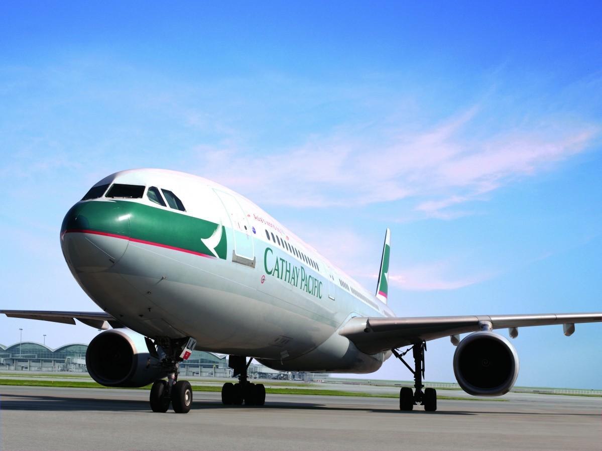 香港ー小松の新路線を就航するキャセイパシフィック航空