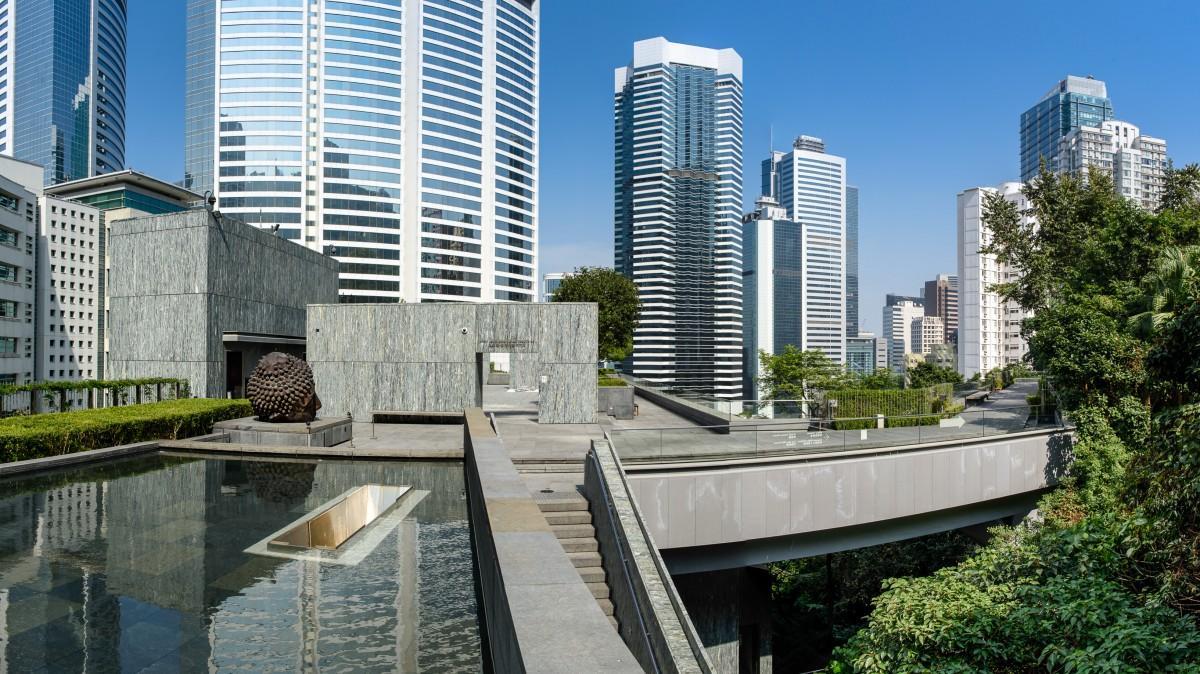 香港の中心部にありながらも喧騒とは一線を画すアジア・ソサイエティ―