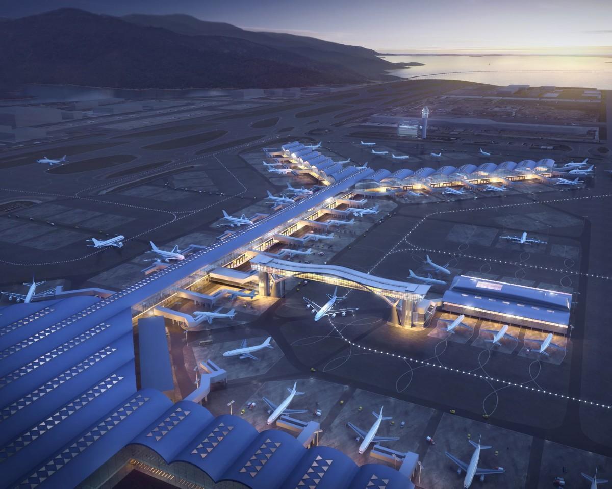 路線数としても世界のハブ空港であることが証明された香港国際空港