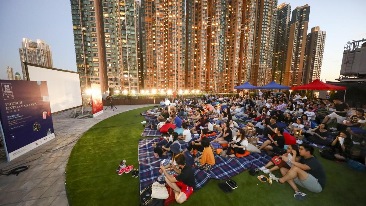 香港各地でフランス関連のイベントが開催される