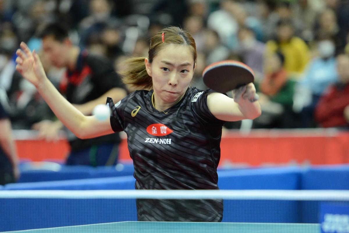 日本からエントリー予定の石川佳純選手(写真提供:NittakuNews)