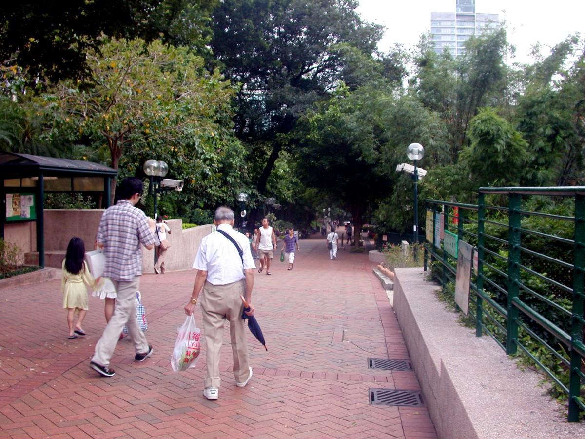 再開発が予定される九龍公園