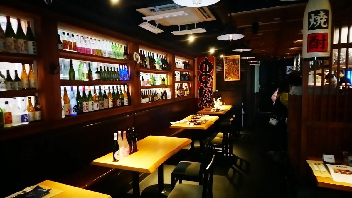 香港に登場した焼酎と串焼きの店